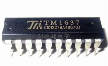 Foto de Controlador display 7 segmentos TM1637