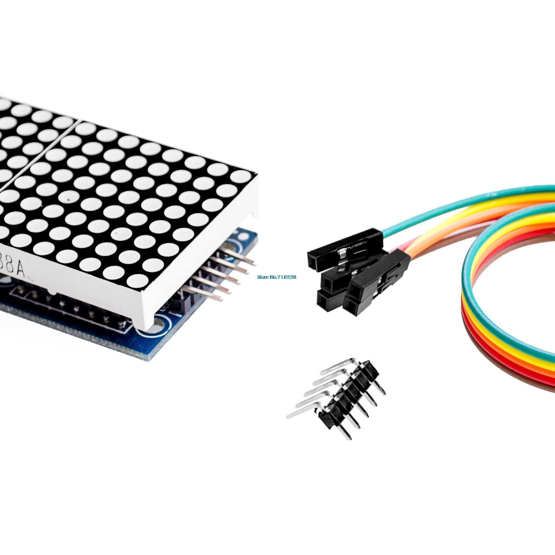 Matriz LED 8x8 MAX7219 para Arduino (4 matrices)