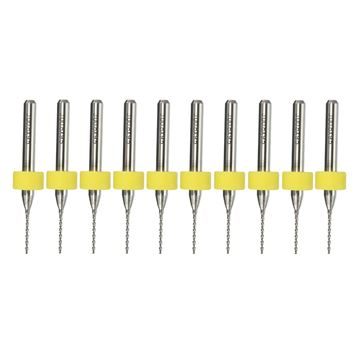 Brocas para placa de circuito 0,8mm, 10uds