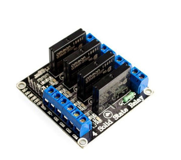 5v 4 Channel SSR G3MB-202P Solid State Relay Module For Arduino