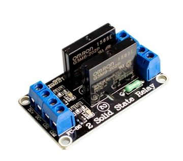 5v 2 Channel SSR G3MB-202P Solid State Relay Module For Arduino