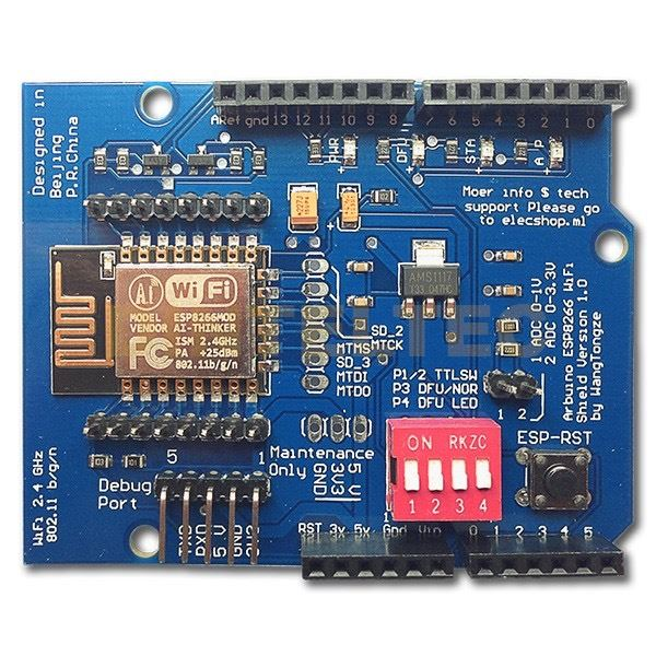 Arduino UNO WIFI Web Server ESP8266