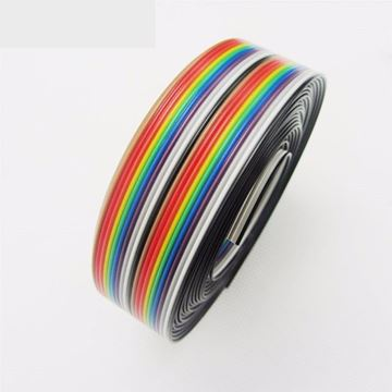 Cable de 20colores, 1,27mm, 0,5mts