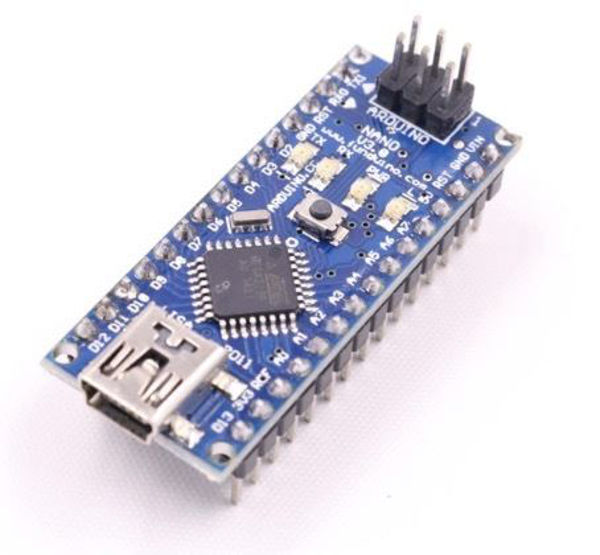 Arduino NANO con chip FT32 y cable USB