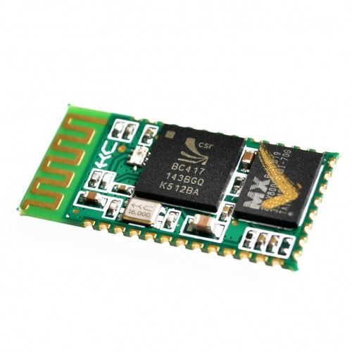 Transceptor Bluetooth HC-05 superficie