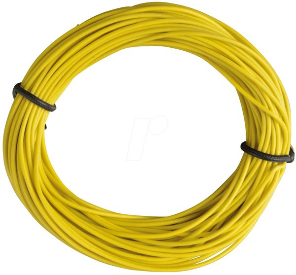 Cable electrico de 70mts, Amarillo