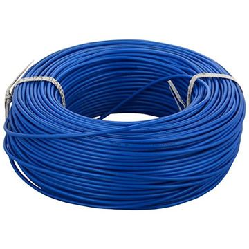 Cable electrico de 70mts, Azul