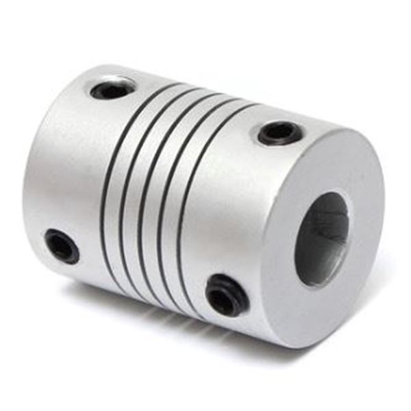 Acople para ejes OD 19mm, 5x8mm
