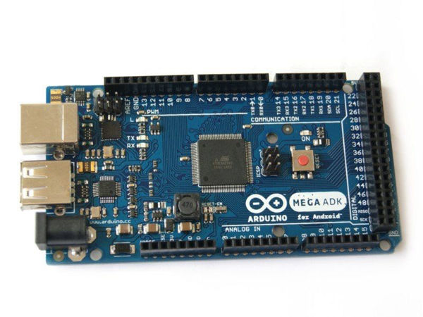 Arduino Mega ADK, progrmable desde Android