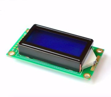 Display LCD 0802 Azul